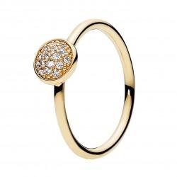 Pierścionek wysadzany kamieniami 150187CZ Pandora Pavé Ring