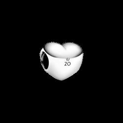 Charms Serce na 20-lecie Pandora Moments B82004EN