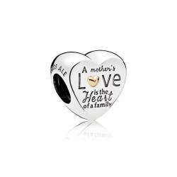 """Charms serce """"Wyjątkowa miłość matki"""" Pandora 796265"""