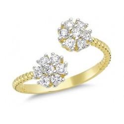 Złoty 14k pierścionek...