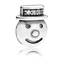 Element Petite, srebro 925 796383CZ Pandora charms bałwanek