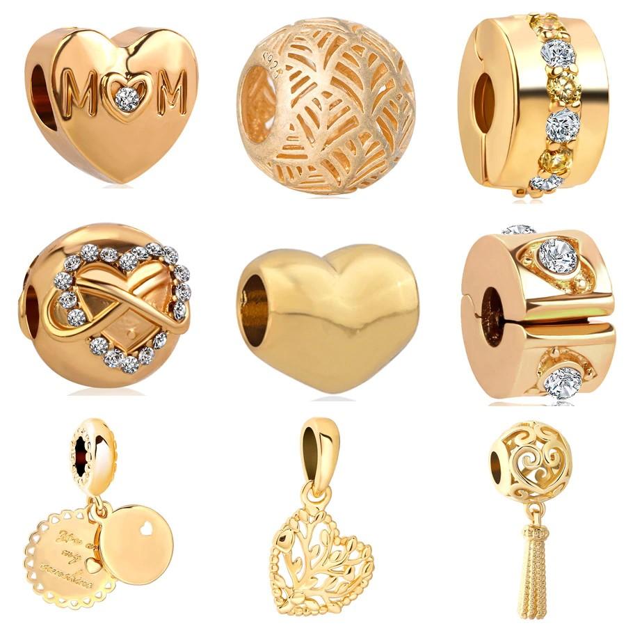 charmsy ze złota 585