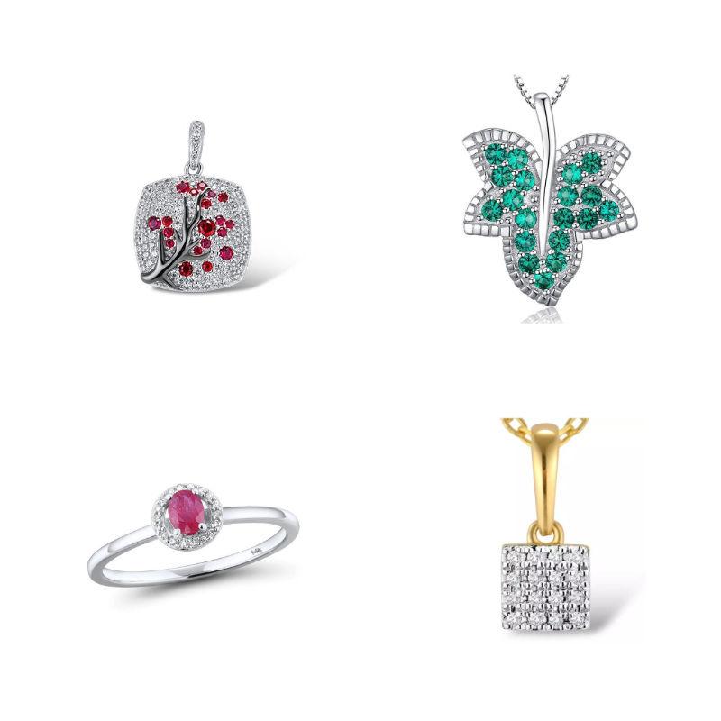 Biżuteria z kamieniami szlachetnymi